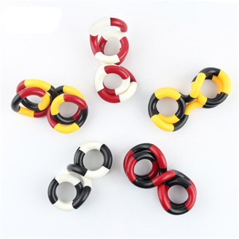 Toy Deformation-Rope Stress Fidget Adult Kids Child Colorful Twist Play Perfect img2