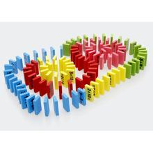 110pcs Montessori Educational Toy Wooden Math Toys for Children Domino 3-4-5-6-7-8 Years Old Game Funny Gifts Kids(China)