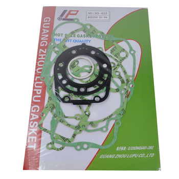 engine gasket kit for honda cbr600 f4 f4i 2001 2006 crankcase generator stator oil pan cylinder head cover exhaust pipe gaskets Motorcycle Engine gaskets include Crankcase Covers Cylinder Gaskets kit set For Kawasaki KDX250 KDX 250 1991-1994