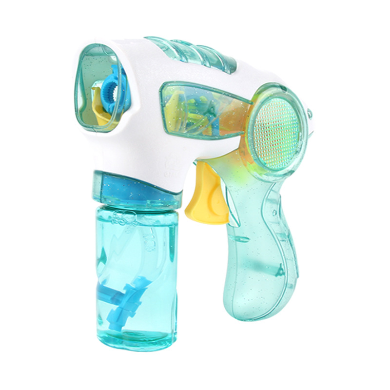 2018 New Flashing Light Up Children Bubble Summer Swimming Machine Toys Birthday Gift For Fun Wholesale Drop Shipping