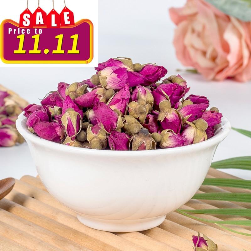 Flower Tea Rose Tea Pingyin Rose Bud Bud Flower Bud Dry-brewed Tea Beauty And Beauty Tea 100g