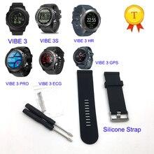 best sell bracelet silicone wrist strap watchband for Zeblaze VIBE 3 HR VIBE 3 PRO VIBE 3 3s ECG gps smart watch smart band belt