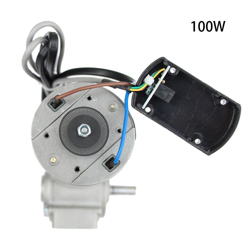 60 W//100 W 24V-60W DC 24 V Motore elettrico a ingranaggi con codificatore intelligente per porte automatiche di hotel 250 RPM
