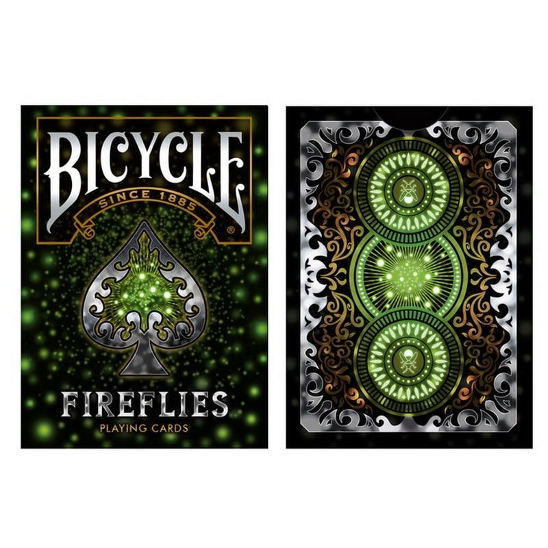 1 Deck Bicycle Cards Fireflies Playing Cards Regular Bicycle Deck Rider Back Card Magic Trick Magic Props