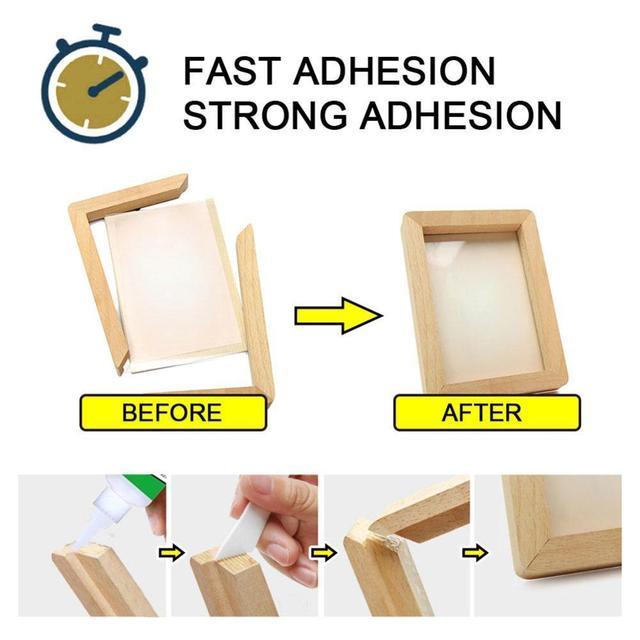 Colle en plastique forte universelle de colle superbe de ménage pour le travail en bois en verre en métal en céramique de résine 30ml/50ml