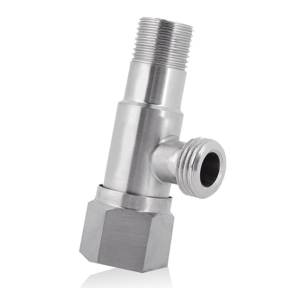 304 из нержавеющей стали практичная прочная угловая запорная вода клапан шаровой клапан ирригатор стиральная душевая комната кухня