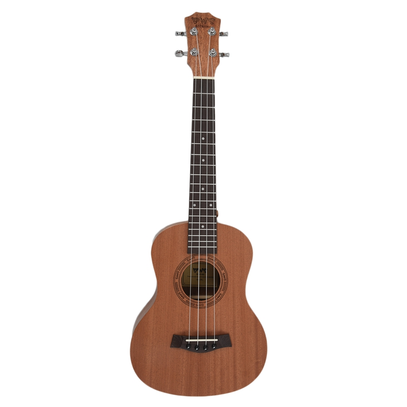 Dropship-26 Inch Mahogany Wood 18 Fret Tenor Ukulele Acoustic Cutaway Guitar Mahogany Wood Ukelele Hawaii 4 String Guitarra
