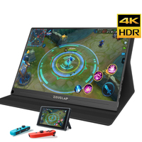 15.6 4K Portable monitor HD Screen 1080p IPS LCD Display HDMI Type C USB for laptop phone xbox switch ps4 gaming monitor