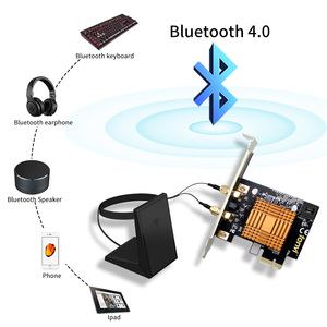 Image 3 - Fenvi 1200Mbps Dual Band Bluetooth 4.2 Wireless PCIe WiFi Adapter With 802.11ac Intel AC Wi Fi Network Card 2.4G/5Ghz Desktop
