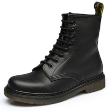 女性ブーツ本革の靴女性のアンクルブーツ 2019 秋冬 Bota Ş Mujer ブーツプラスサイズ 35 46 乗馬ブーツ