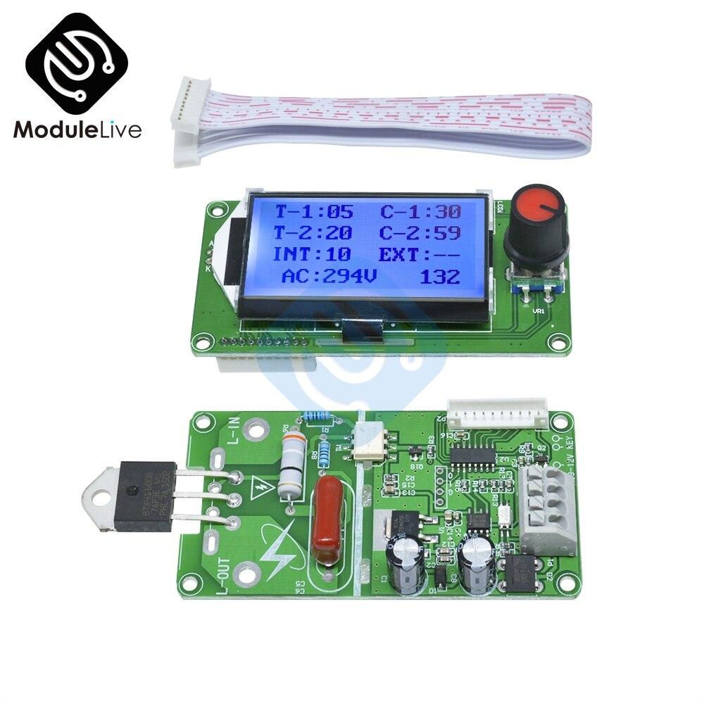 Image 2 - Цифровой ЖК электронный аппарат для сваркиАппараты точечной сварки    АлиЭкспресс