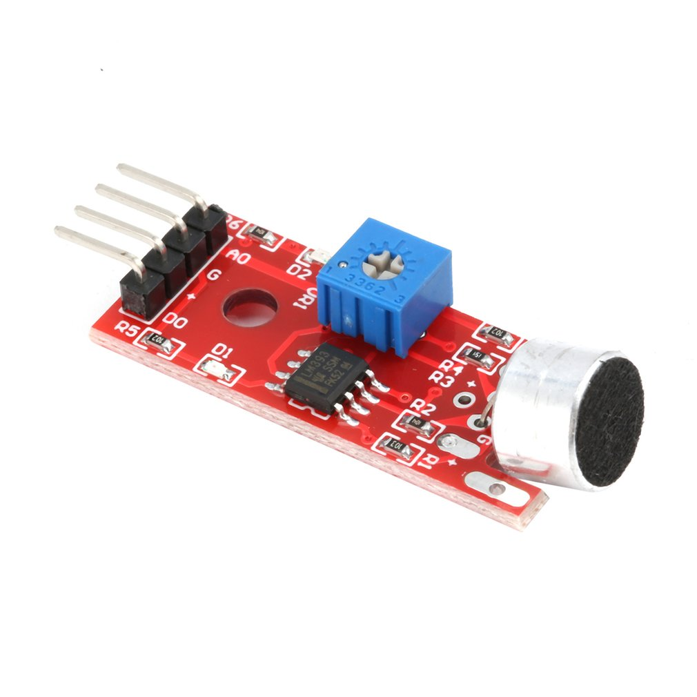 KY-037 4pin Voice Sound Detection Sensor Module Microphone Transmitter Smart Robot Car For Arduino Electronic DIY Tool