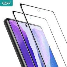 2 sztuk ESR ochraniacz ekranu dla Samsung Galaxy Note 20 Ultra dla S20 S10 Plus Lite uwaga 10/9 pełna zakrzywiona folia szkło hartowane