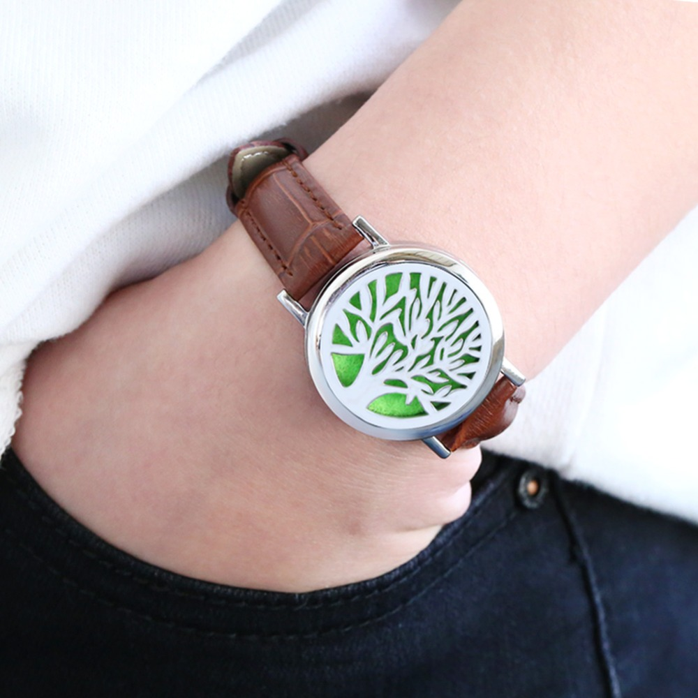 aromatherapy lockets tree