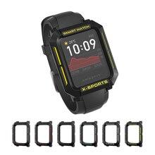 Funda protectora de reloj inteligente Xiaomi Amazfit Bip, carcasa resistente de TPU Multicolor para Huami Bip Lite Bip S