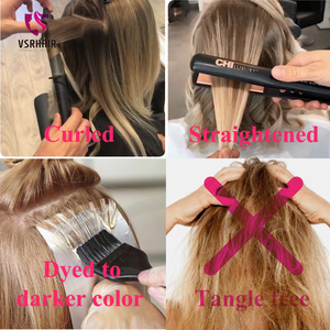 Image 5 - VSR 180g 200g 220g 24Inch Machine Remy Clip Hair Silky Double Drawn Thick Hair Bottom 7Pieces/Set Clip In Human Hair Extension