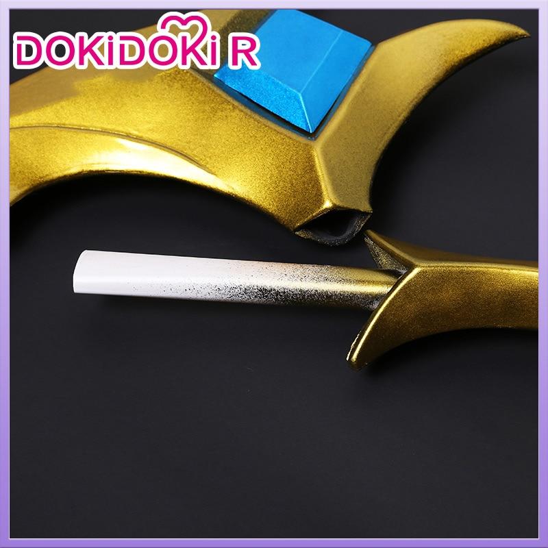 DokiDoki-R Game LOL KDA Cosplay Akali Prop Accessories LOL K/DA Cosplay Akali  MASK 2