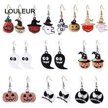 halloween earrings Ghost Drop Earrings Fashion Trendy Funny Cool Dangle Halloween Punk wholesale Jewelry