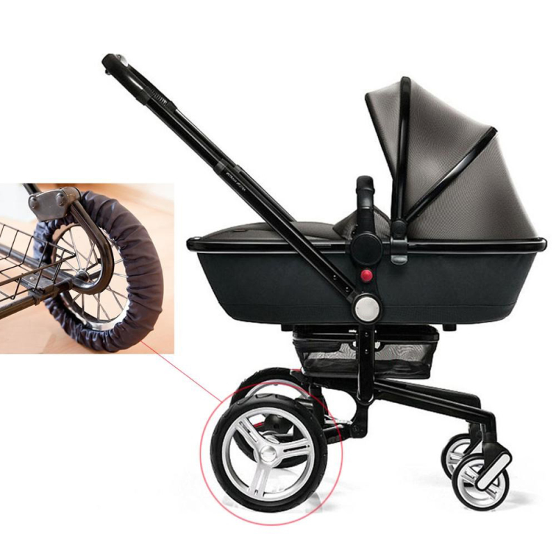 1 Pcs New Baby Stroller Wheel Anti Dustproof Cover Anti-Dirty Case Waterproof Nylon Protection Wheel Cover Stroller Accessories