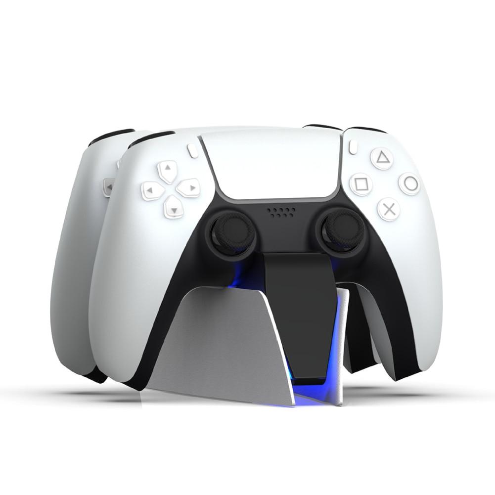 Двойное быстрое зарядное устройство для PS5 беспроводной контроллер USB Type-C зарядная док-станция для Sony PlayStation5 Джойстик Геймпад Новинка