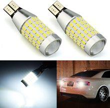цена на 1PC T15 LED W16W 1156 BA15S LED P21W Bulb Reverse Light 3014 SMD 920 921 No Canbus Error For Car Backup Lights Lamp White 12-24V