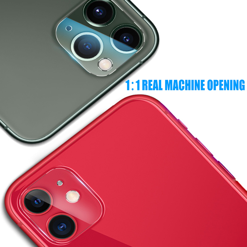 Camera Lens Full Cover Screen Protector Case For iPhone 11 Pro Max Tempered Glass For iPhone