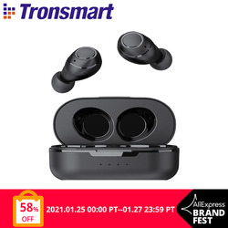 Tronsmart Onyx Free TWS Wireless Earbuds UV Bluetooth Earphones QualcommChip with aptX, IPX7 waterproof
