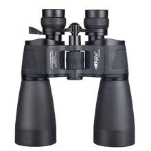 Pingia binóculos profissionais de caça 10-180x90, telescópio de longo alcance com zoom, alta definição, à prova d' água