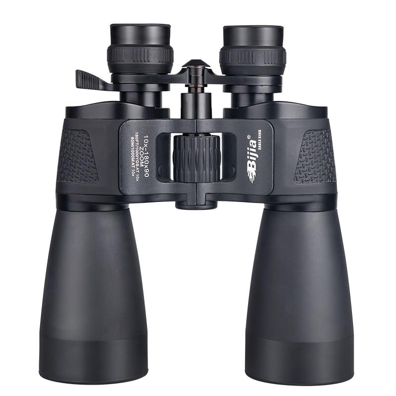 bijia 10 180x90 zoom de longo alcance telescopio caca binoculos profissionais alta definicao vivendo a prova