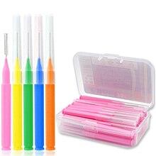 30 Pcs I Shaped Interdental Brush Denta Floss Interdental Cleaners Orthodontic dental teeth Brush Toothpick Oral Care tool
