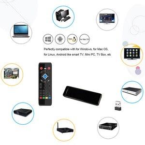 Image 5 - T16 M commande vocale Air souris 2.4GHz sans fil Google Microphone télécommande IR apprentissage pour Android TV Box PC PK G10S G20 G30