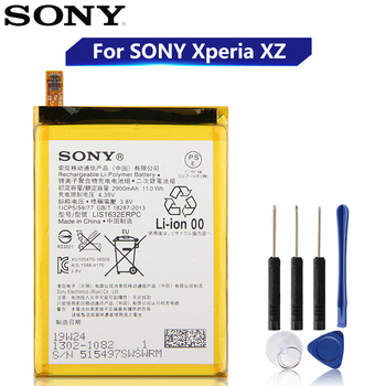 Original Replacement Sony Battery For SONY Xperia XZ F8331 F8332 DUAL LIS1632ERPC Genuine Phone Battery 2900mAh цена 2017