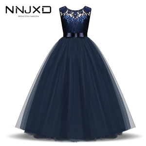 New Year Christmas Dress For Girls Santa Clus Costume Kids Dresses For Girls Princess Dress Evening Party Dress 3 6 7 8 10 Years(China)