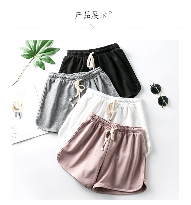 2020 New Women's Fashion Casual Shorts Double-layer Anti-light Sweat-absorbent Breathable High Elasticity