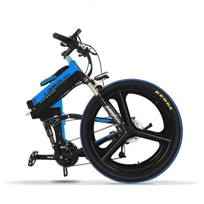 MTB Lankeleisi XT750-Z SHlMANO 27-Speed Electric 26 INCH  Mountain Bike 400W 10AH Panasoni'c Battery for men 4