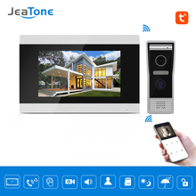 цена на Touch Screen Wired WIFI IP Video Door Phone Intercom Video Doorbell Villa Apartment Access Control System Motion Detection