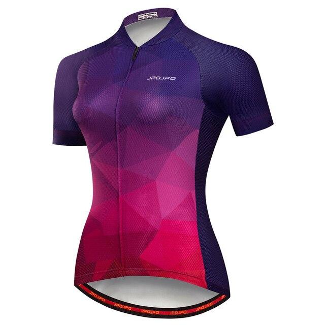 Weimostar pro equipe de ciclismo jérsei das mulheres verão mtb bicicleta camisa maillot ciclismo roupas secagem rápida 3