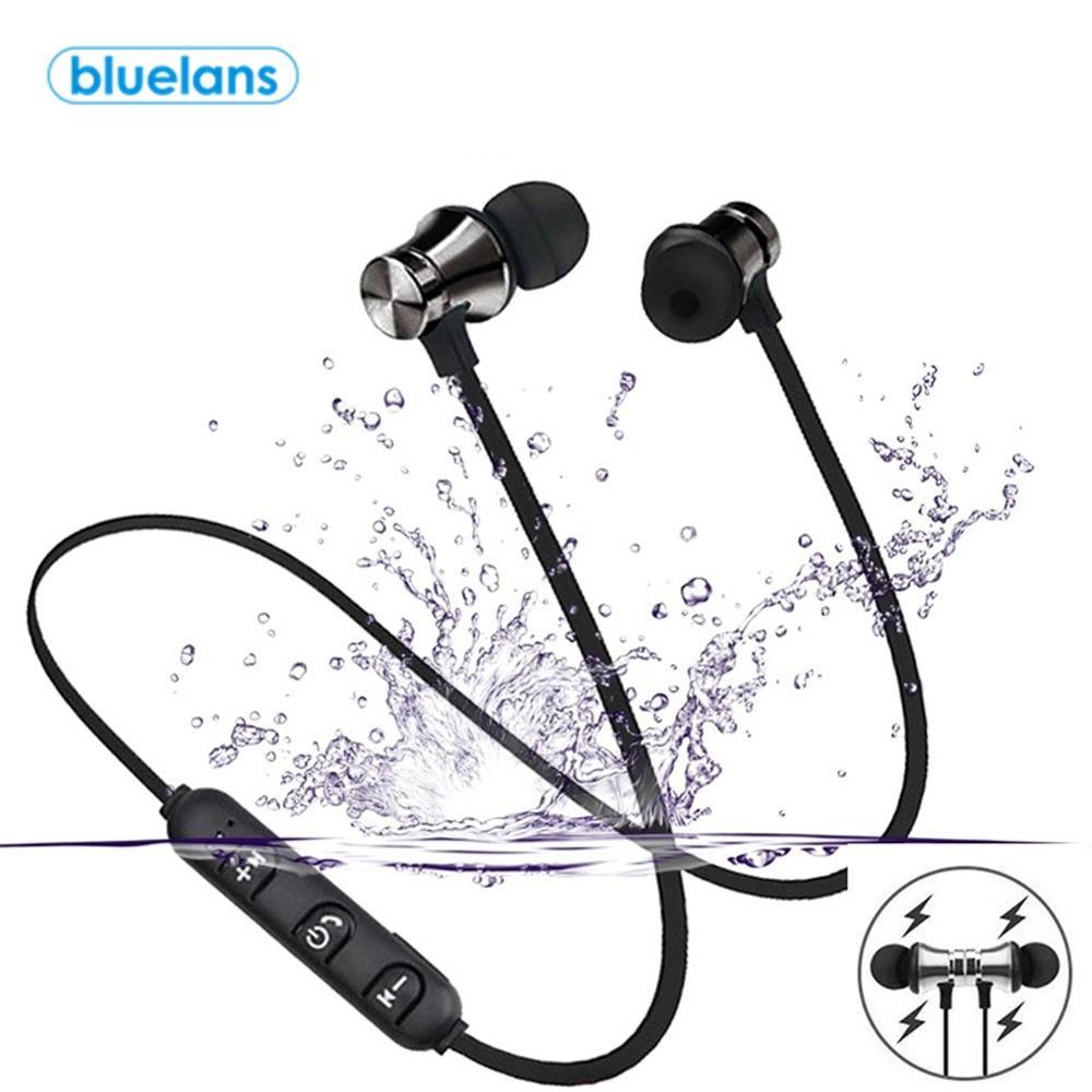 XT11 Magnetic Adsorption Wireless Bluetooth 4.2 In-Ear Earphone Sports Headphone Stereo