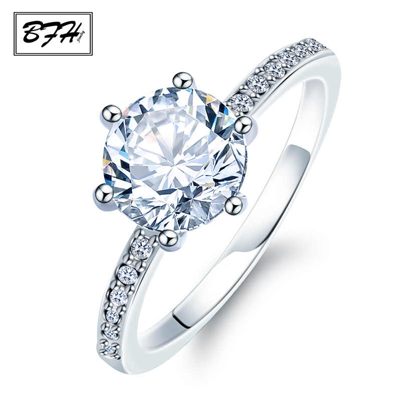 New Fashion Crystal  Engagement Claws Design Hot Sale Rings For Women AAA White Zircon Cubic Elegant Ring Female Wedding Jewerly