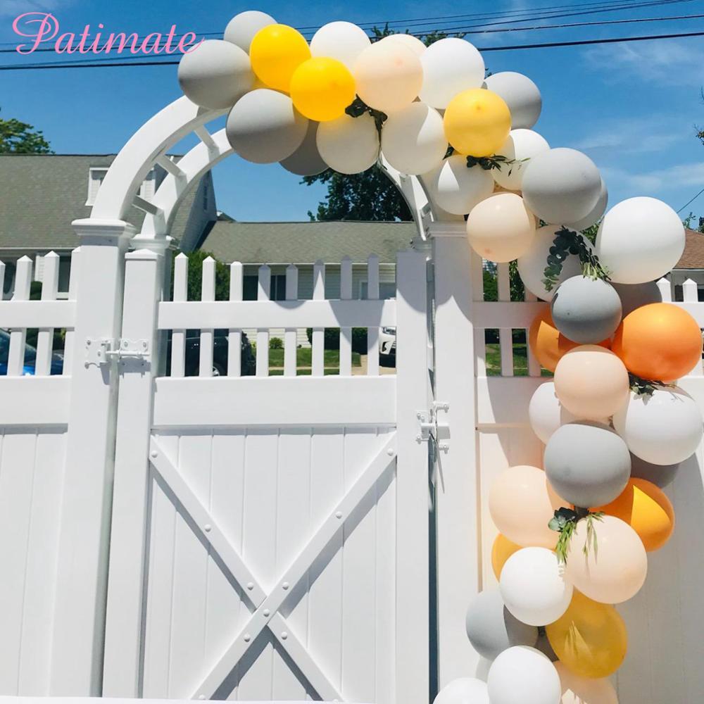 PATIMATE Latex Balloon Chain  Helium Decoration Birthday Party Decorations Kids Wedding Accessories