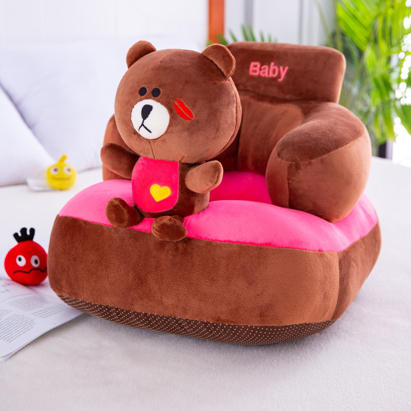 Baby Student Chair Children's Sofa Anti-fall And Anti-rollover Student Chair Cartoon Small Sofa Learn To Sit Artifact