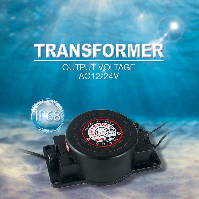 transformador de iluminacao 12 v 24 v 100 w 200 w ip67 a prova dip67 agua