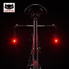 CATEYE Ciclismo Bicicletta Barend Luce di Sicurezza Della Bici Bar Plug Lampade Giro In Bici Bend Manubrio Spie Luci di Clip 3 Modalità 100 ore