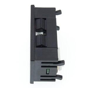 """Image 4 - DC 0 100V 10A voltmètre numérique ampèremètre double affichage détecteur de tension courant mètre panneau ampèremètre 0.28 """"rouge bleu LED"""