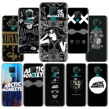 Ártico monos Rock Roll caso para Huawei P Smart Plus 2019 P Smart Z Nova 5 5i Pro Y9 y7 Y6 Y5 2019 2018 Fundas Capa(China)