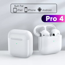 TWS Pro 4 Bluetooth Earphone Wireless Headphones HiFi Music Earbuds Sport Gaming Headset For All Smart Phone With Charging Box