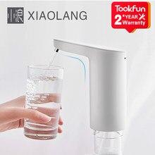 XiaoLang-dispensador de agua con Interruptor táctil y automático, bomba de agua eléctrica, carga USB, protección contra desbordamiento, TDS