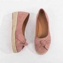 2019 autumn new foreign trade large size single shoes female bow round head flat shoes students retro art casual shoes women воздушный клапан shuft dcr 125