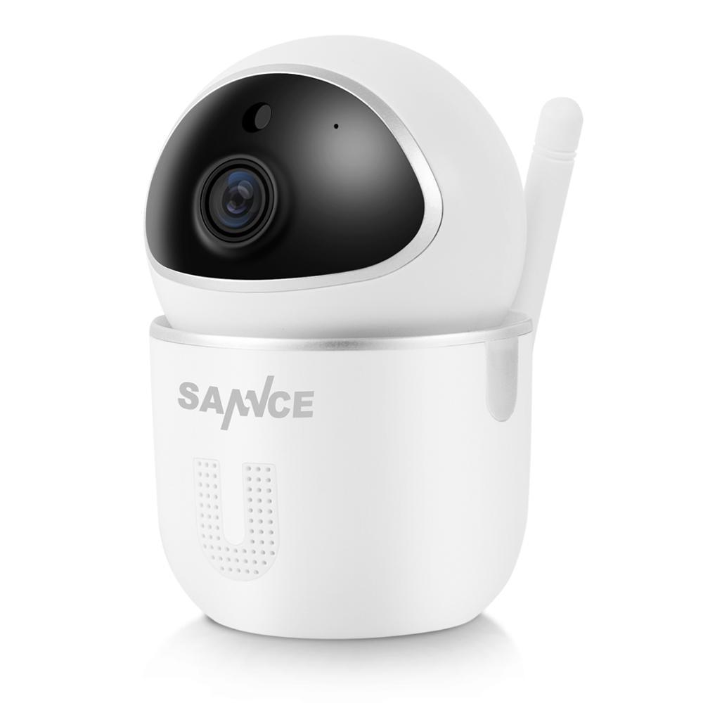 SANNCE בית אבטחת IP מצלמה Wi-Fi אלחוטי מיני רשת Wifi 1080P ראיית לילה CCTV מצלמה בייבי מוניטור