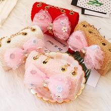 Mini Handbag Pouch Purse Coin Wallet Crossbody-Bags Small Girls Baby Kids Children's